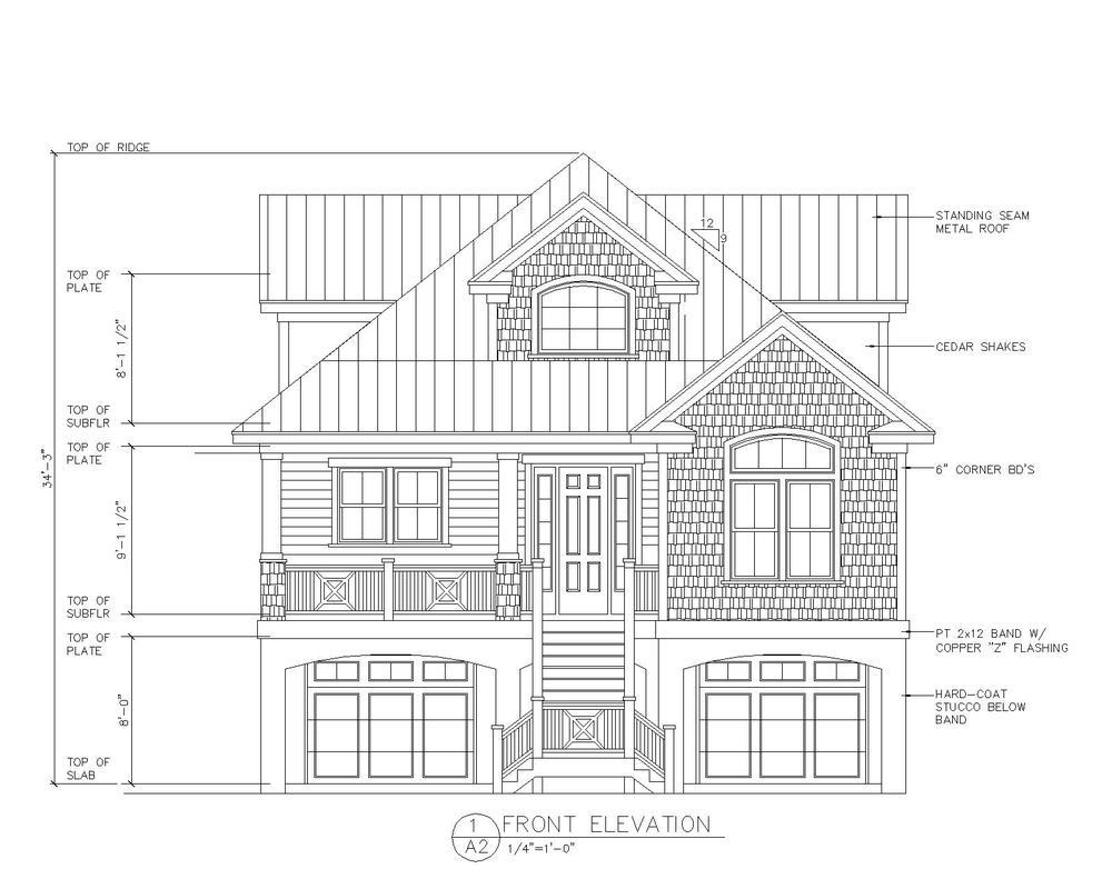 Custom Florida House Plans Atlantic House Mangrove Bay